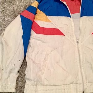 cd3fc3fdcce2 jcpenney Jackets   Coats - Early 90 s Vintage Olympic color blocked Jacket